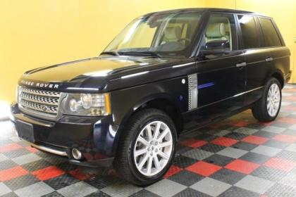 2010 LAND ROVER RANGE ROVER SC - BLACK ON BEIGE