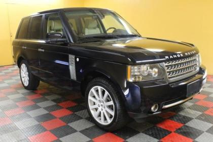 2010 LAND ROVER RANGE ROVER SC - BLACK ON BEIGE 2