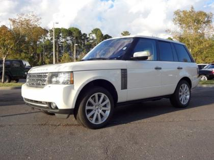 2010 LAND ROVER RANGE ROVER SC - WHITE ON BEIGE