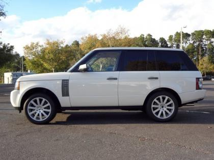 export used 2010 land rover range rover sc white on beige. Black Bedroom Furniture Sets. Home Design Ideas
