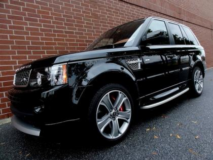 export used 2013 land rover range rover sport supercharged autobiograph black on orange. Black Bedroom Furniture Sets. Home Design Ideas