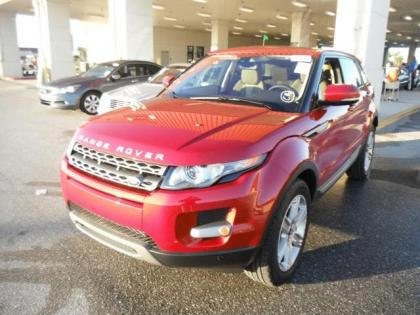 2013 LAND ROVER RANGE ROVER EVOQUE PURE PLUS - RED ON BEIGE