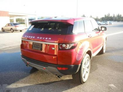 2013 LAND ROVER RANGE ROVER EVOQUE PURE PLUS - RED ON BEIGE 2