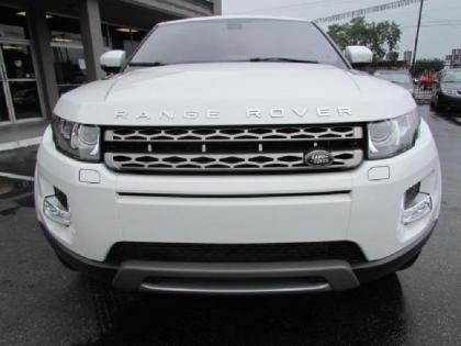 2013 LAND ROVER RANGE ROVER EVOQUE PURE PLUS - WHITE ON BLACK