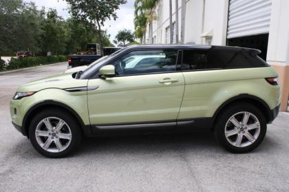 2013 LAND ROVER RANGE ROVER EVOQUE PURE PLUS - GREEN ON BLACK 3