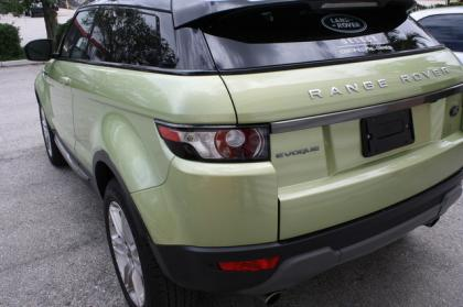2013 LAND ROVER RANGE ROVER EVOQUE PURE PLUS - GREEN ON BLACK 4