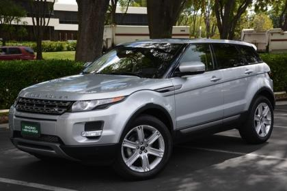 2013 LAND ROVER RANGE ROVER EVOQUE PURE PLUS - SILVER ON BLACK