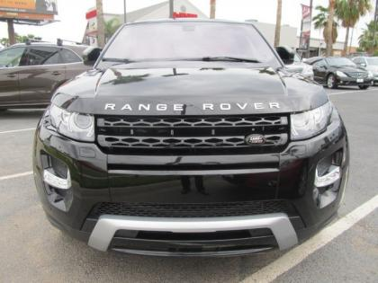 2013 LAND ROVER RANGE ROVER EVOQUE DYNAMIC PREMIUM - BLACK ON RED