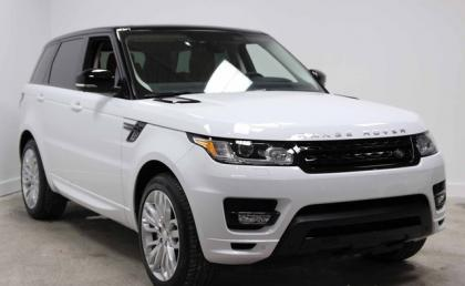 2014 LAND ROVER RANGE ROVER SPORT AUTOBIOGRAPHY - WHITE ON ORANGE