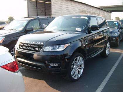 export used 2014 land rover range rover sport autobiography black on black. Black Bedroom Furniture Sets. Home Design Ideas