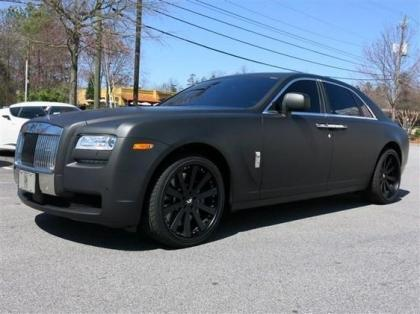 2011 ROLLS-ROYCE GHOST BASE - BLACK ON BLACK