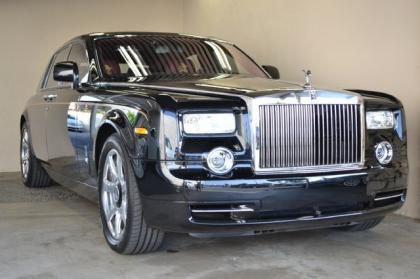 2012 ROLLS-ROYCE PHANTOM DRAGON EDITION - BLACK ON RED