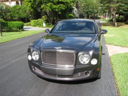 2012 BENTLEY MULSANNE BASE - GRAY ON BLACK