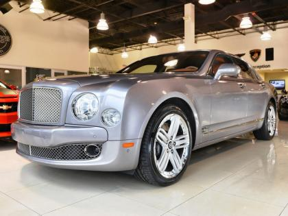 2011 BENTLEY MULSANNE BASE - GRAY ON BEIGE