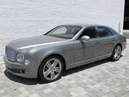 2011 BENTLEY MULSANNE BASE - GRAY ON TAN