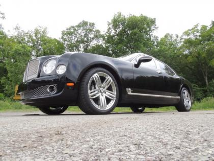 2012 BENTLEY MULSANNE BASE - BLACK ON BLACK