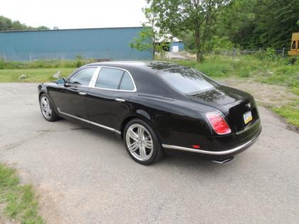 Export Used 2012 Bentley Mulsanne Base Black On Black