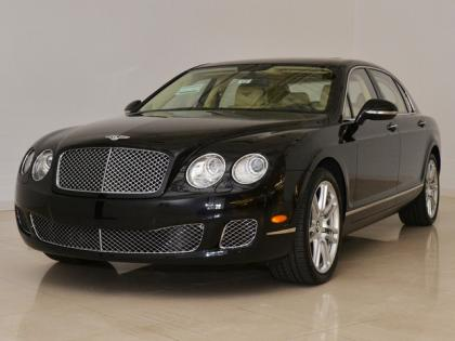 2013 BENTLEY CONTINENTAL FLYING SPUR - BLACK ON BEIGE