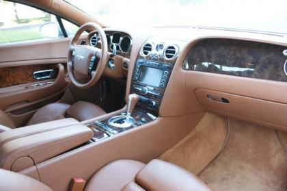export used 2004 bentley continental gt - silver on beige
