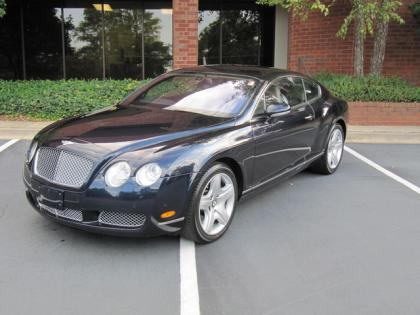 2005 BENTLEY CONTINENTAL GT - BLUE ON GRAY
