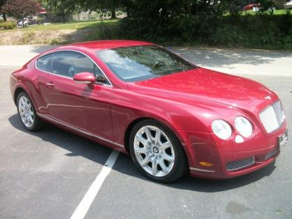 2004 BENTLEY CONTINENTAL GT - RED ON BEIGE