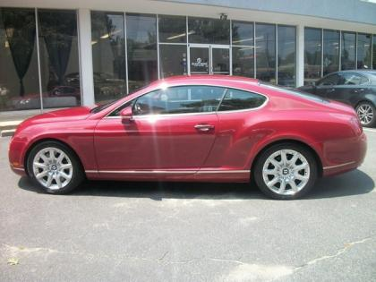 2004 BENTLEY CONTINENTAL GT - RED ON BEIGE 2