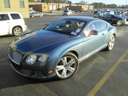 2012 BENTLEY CONTINENTAL GT - BLUE ON BEIGE
