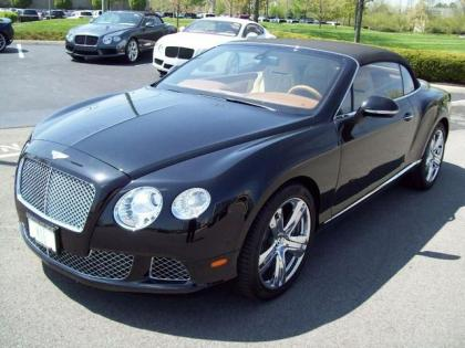 2013 BENTLEY CONTINENTAL GT - BLACK ON BEIGE