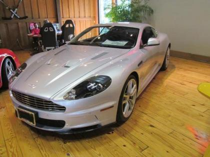 2011 ASTON MARTIN DBS BASE - SILVER ON BLACK