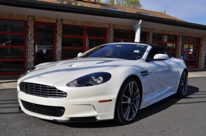 2010 ASTON MARTIN DBS BASE - WHITE ON BLACK