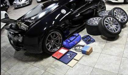 export used 2006 bugatti veyron 16 4 black on black. Black Bedroom Furniture Sets. Home Design Ideas