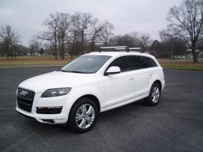 2011 AUDI Q7 3.0TDI - WHITE ON BEIGE