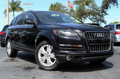 2011 AUDI Q7 3.0TDI - BLACK ON GRAY