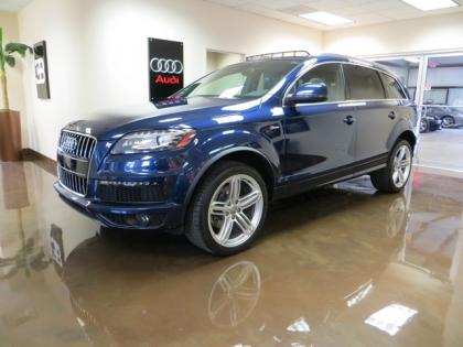 Audi q7 Dark Blue 2011 Audi q7 Blue on Black