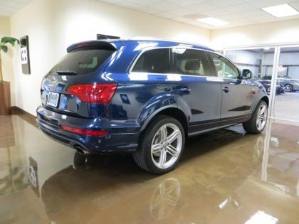 2011 AUDI Q7 S-LINE - BLUE ON BLACK 2