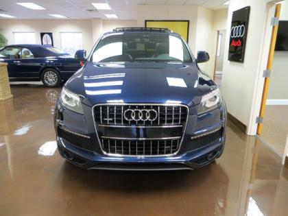 2011 AUDI Q7 S-LINE - BLUE ON BLACK 3