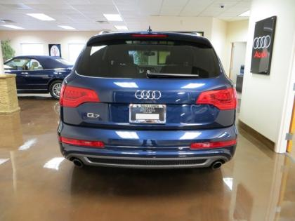 2011 AUDI Q7 S-LINE - BLUE ON BLACK 4