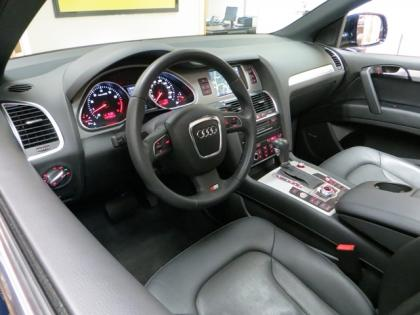 2011 AUDI Q7 S-LINE - BLUE ON BLACK 8