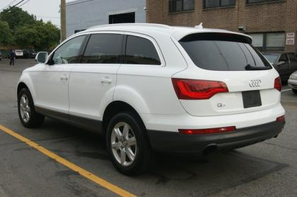2011 AUDI Q7 BASE - WHITE ON BROWN 2
