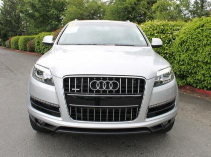 2011 AUDI Q7 AWD - SILVER ON BLACK