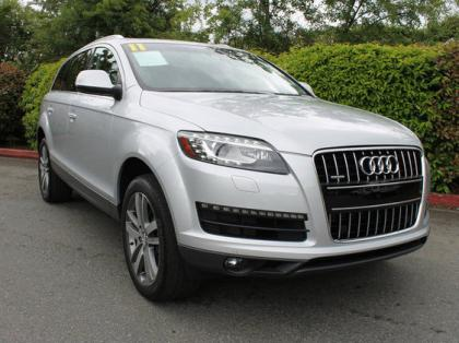 2011 AUDI Q7 AWD - SILVER ON BLACK 2