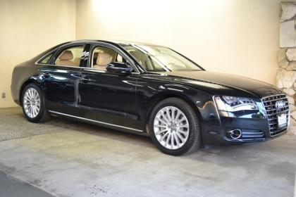 2013 AUDI A8 BASE - BLACK ON BEIGE 2