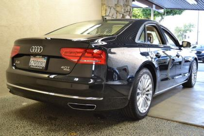2013 AUDI A8 BASE - BLACK ON BEIGE 3