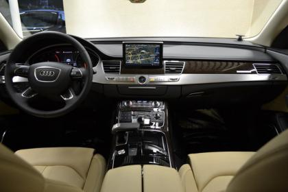 2013 AUDI A8 BASE - BLACK ON BEIGE 6