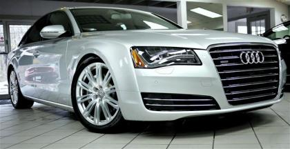 2013 AUDI A8 3.0L - SILVER ON GRAY
