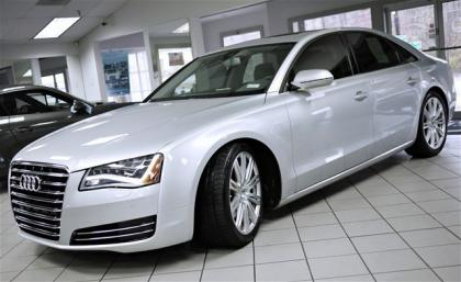 2013 AUDI A8 3.0L - SILVER ON GRAY 2