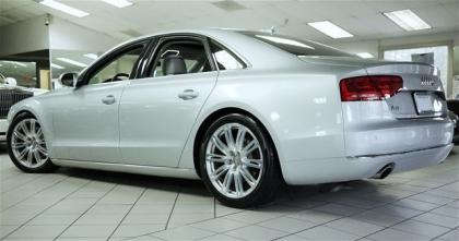 2013 AUDI A8 3.0L - SILVER ON GRAY 4
