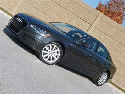 2012 AUDI A6 3.0T QUATTRO - GRAY ON BROWN 1