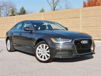 2012 AUDI A6 3.0T QUATTRO - GRAY ON BROWN 2