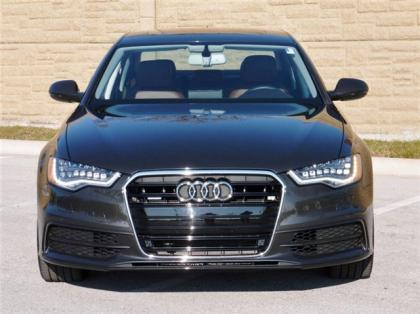 2012 AUDI A6 3.0T QUATTRO - GRAY ON BROWN 3